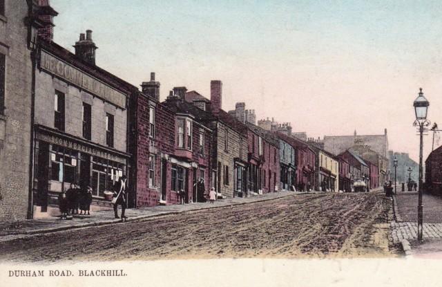 The Benfiedside split - Blackhill -Durham Road c1904 crop Small