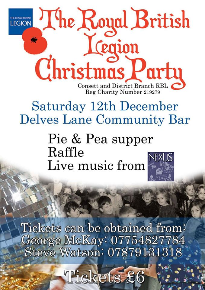 The Royal British Legion Christmas Party