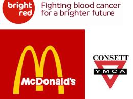 Consett Charity Football Match - Bright red