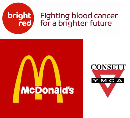 Consett Charity Football Match - Bright red