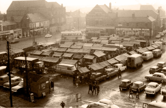 Demolition and Rebuild - Consett market Square