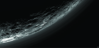 Haze Layers Above Pluto - Space Project
