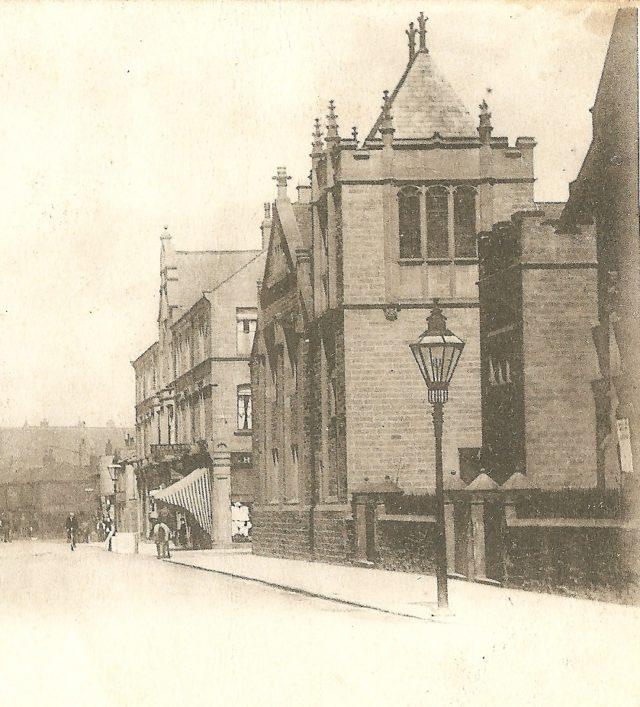 Dray Days at Consett - Weslyan Methodists - Middle Street Consett 1902small