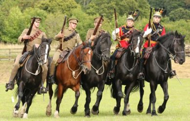 Many live events, including the military cavalry displays will feature throughout the four days.
