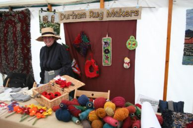 One of the many craft stalls that will feature woolen materials .