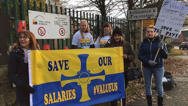 Parents Supportive of Striking Teaching Assistants