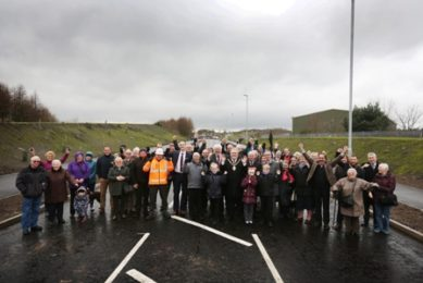 New £2.4 Million Road Gives Leadgate a Boost