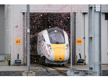 First Trains Produced at County Durham's Hitachi Plant
