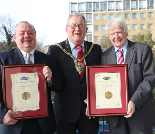 County Durham Men Awarded Medal for Commitment to Grassroots Sport