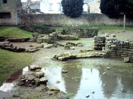 Roman Baths Found Beneath County Durham Street