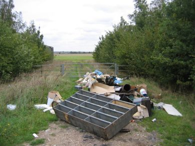County Durham Fly-Tipper Gets Fine and Criminal Record