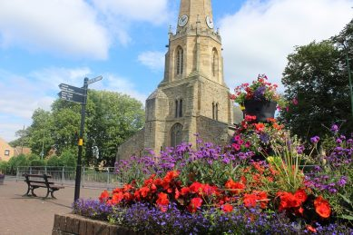 Stanley Blossoms for Northumbria in Bloom