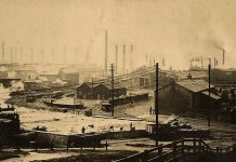 Consett History - 1866 Strikes and Openings - Consett iron Works
