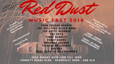 Consett's Red Dust Music Fest