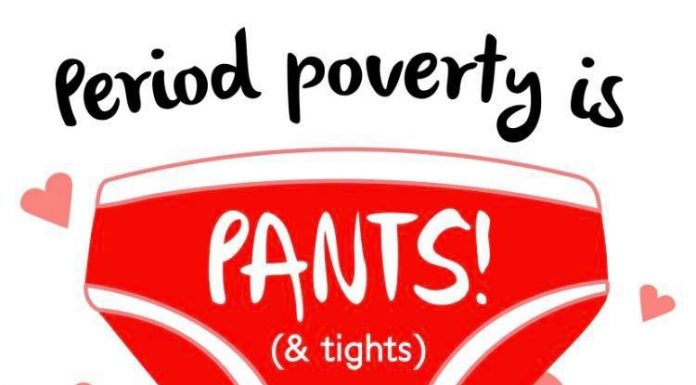 Period Poverty is Pants