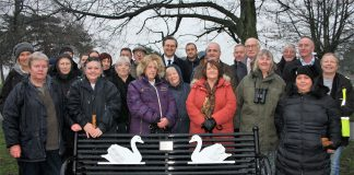 Swan Lady's devotion memorialised (1)