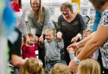 Toddler Time songs at Newton Aycliffe Library
