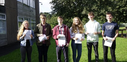 A Level Results Photo Framwellgate School