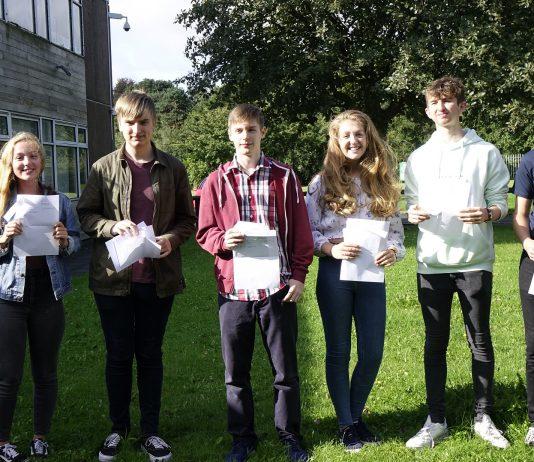 A Level Results Photo Framwellgate School