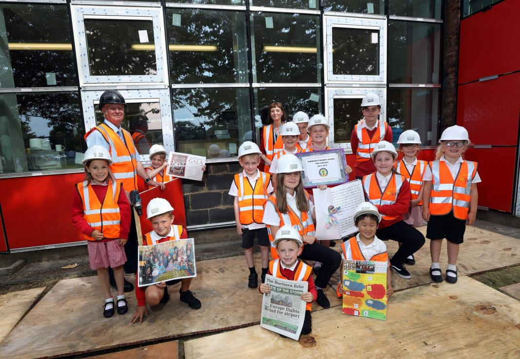 Sherburn Primary School time capsule