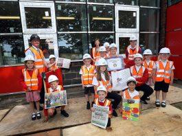 Sherburn Primary School time capsule