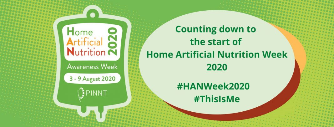 Home Artificial Nutrition Week (HAN Week) is run by national charity PINNT and is dedicated to raising awareness about essential and life-saving nutrition treatments received by people living at home, not in a hospital.