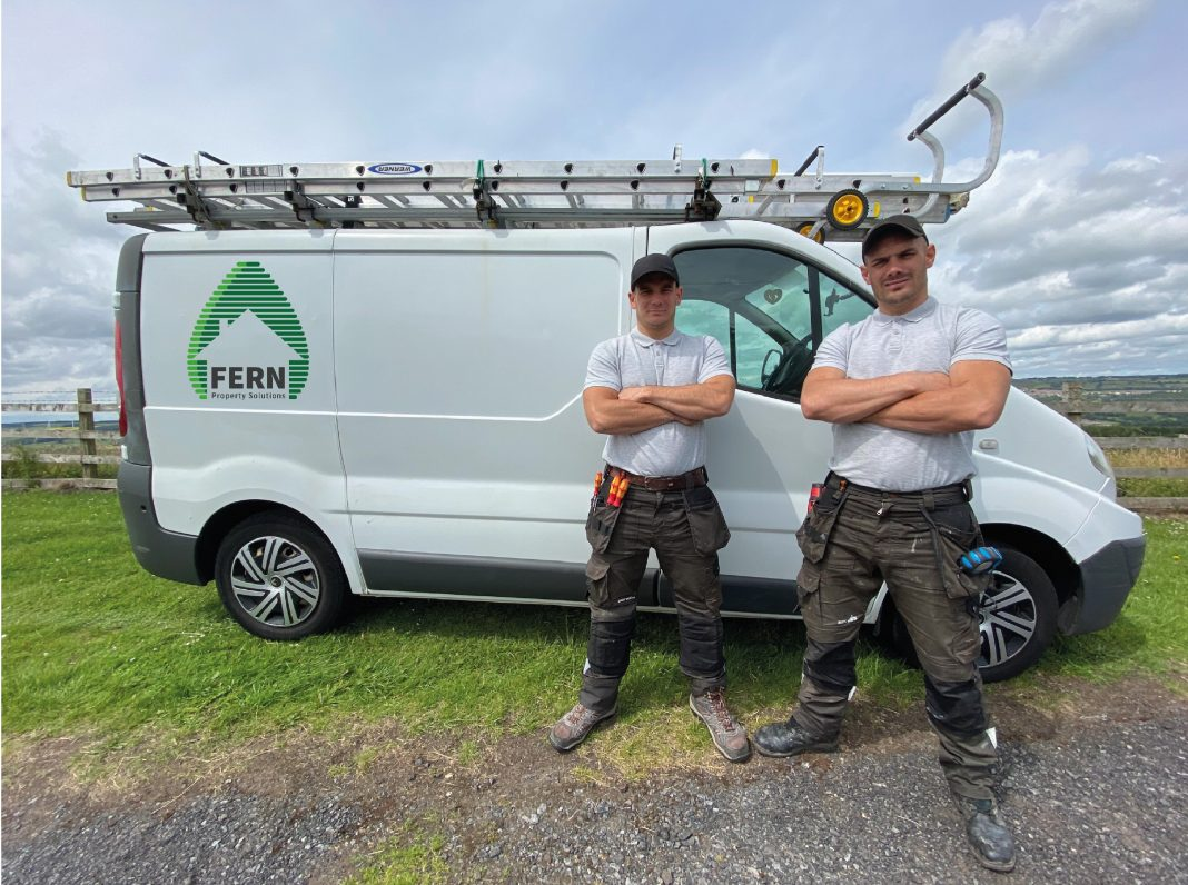 Brothers Sean and Liam team up in 2020 to combine their expertise and offer their all-in-one property services for customers in Consett and surrounding areas.