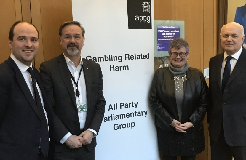 Richard Holden, MP, Launches Campaign Against Under-18 Gambling