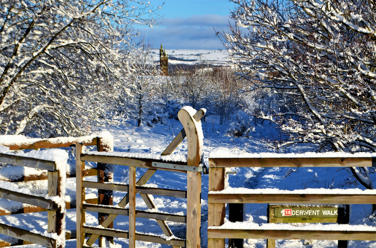 Blackhill in the snow