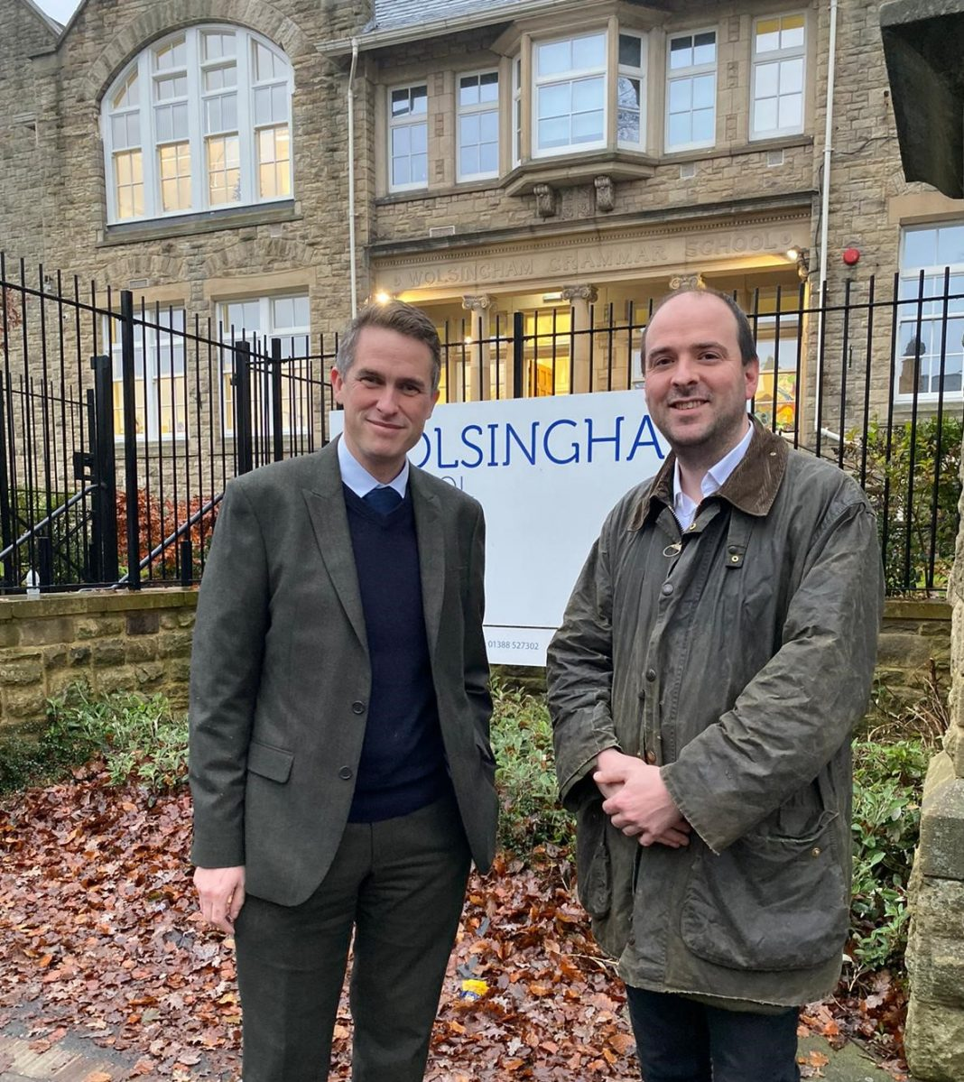 MP Richard Holden Launches Campaign Against The Closure of Wolsingham's Sixth Form