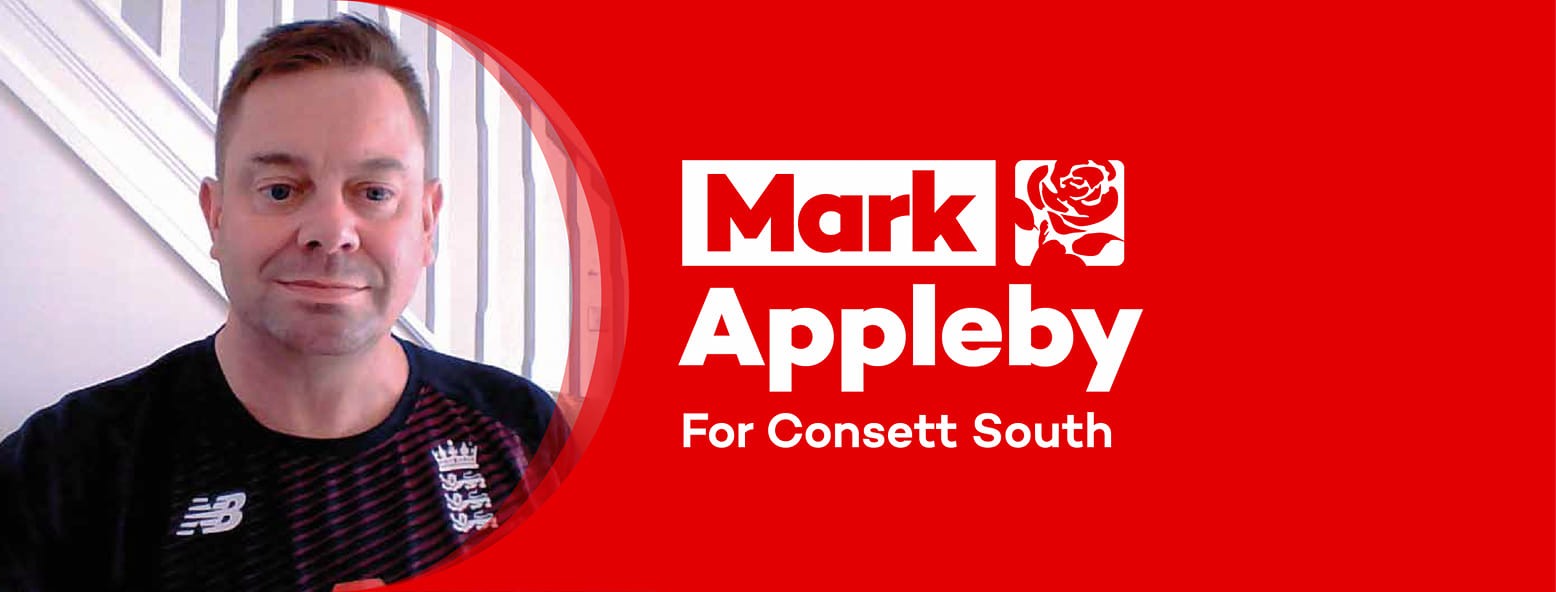Mark Appleby - Consett South Candidate for Labour
