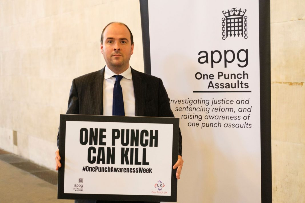 Richard Holden Amongst Other MPs Campaigning To End One-Punch Assaults